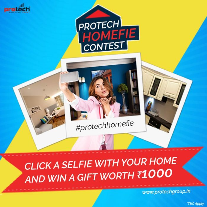 A selfie consumer promotion executed by Kuhipaat for Protech Group