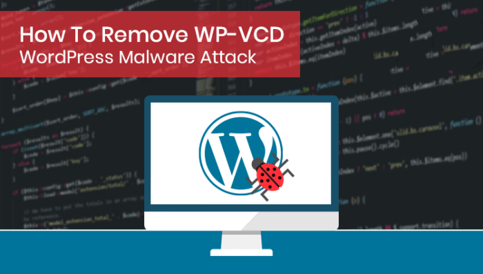 Kuhipaat discusses how to remove malware - WP-VCD